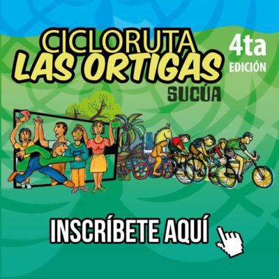 Inscríbete en la Cicloruta de las Ortigas: Sucúa