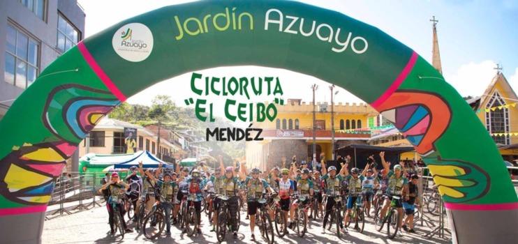 Cicloruta para celebrar los 75 años de cantonización de Méndez