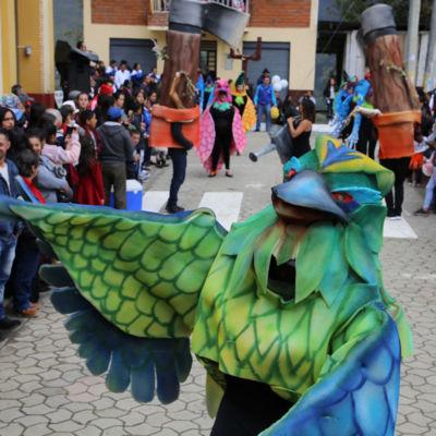 Participamos en el Desfile de Cantonización en El Pan