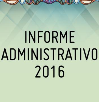 Informe Administrativo 2016