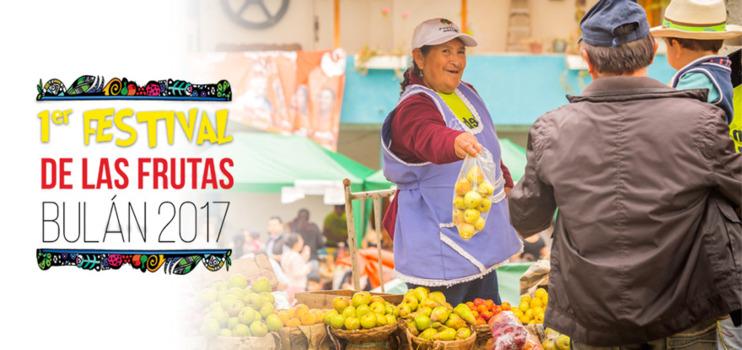 Primer Festival de las Frutas Bulán