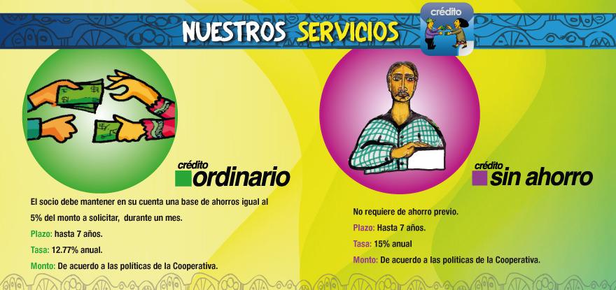 Nuestros servicios (Crédito)