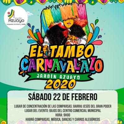 Carnavalazo en El Tambo