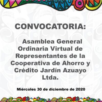 Convocatoria Asamblea Virtual