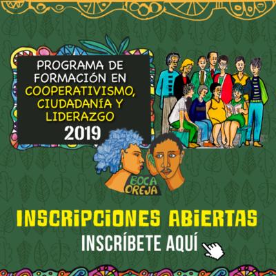 Programa de Formación en Cooperativismo, Ciudadanía y Liderazgo