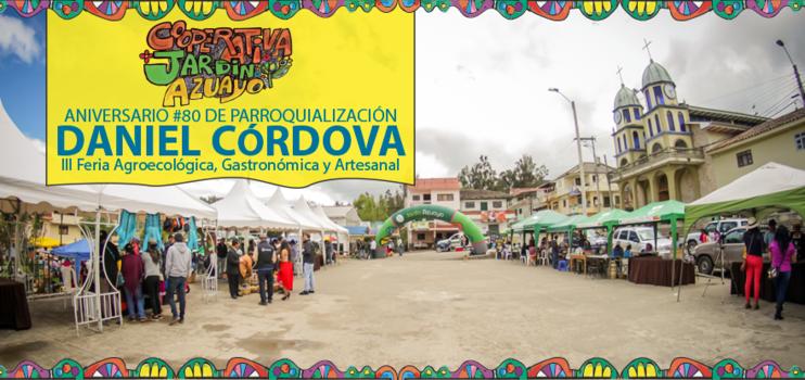 Aniversario 80 de Parroquialización Daniel Cordova (III Feria Agroecológica, Gastronómica y Artesanal)