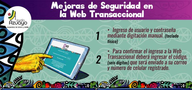 Cambios en nuestra Web Transaccional