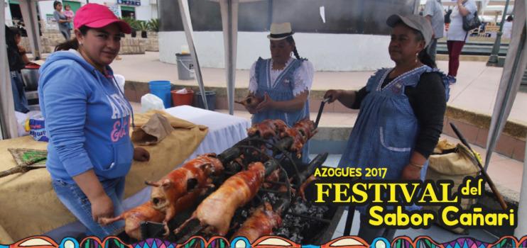 Así vivimos el Festival del Sabor Cañari - Azogues 2017