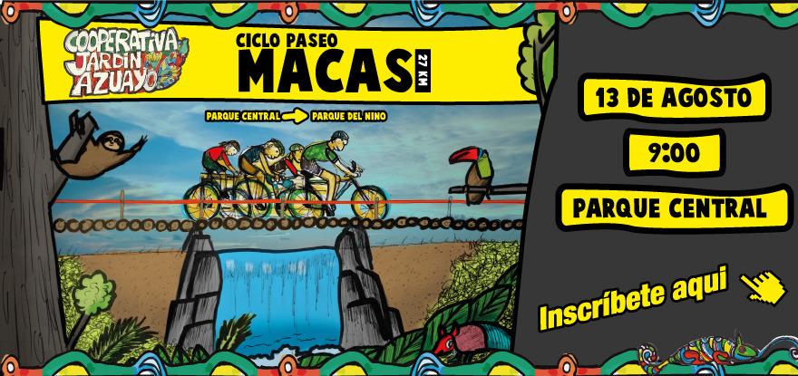 Ciclo Paseo Macas - Pedaleando en Familia