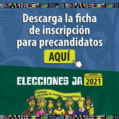 Ficha de Inscripción Elecciones JA 2021
