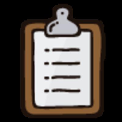 Pizarra informativa (Información sobre Tasas y Costos de Servicios)