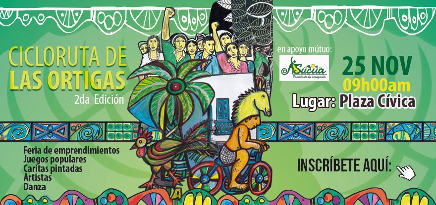 """Cicloruta """"Las Ortigas"""" en Sucúa"""
