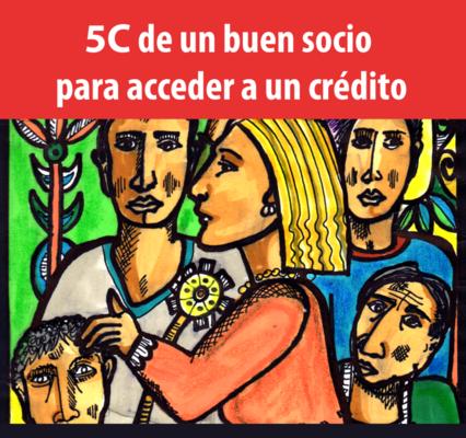 5C de un Buen Socio para Acceder a un Crédito.