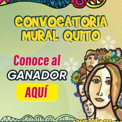 Ganador Convocatoria Mural Quito