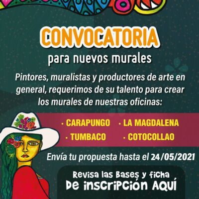 Convocatoria murales Quito