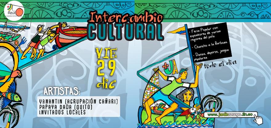 Intercambio Cultural General Villamil Playas 2017