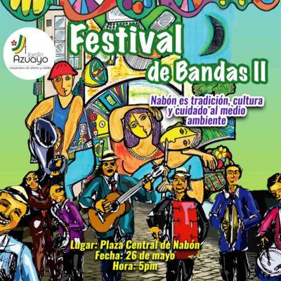 Festival de Bandas II Nabón