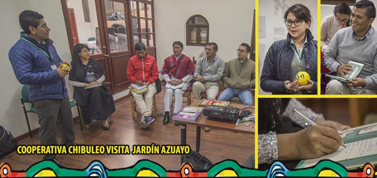 Visita Cooperativa Chibuleo