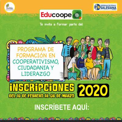 Programa de Cooperativismo, Ciudadanía y Liderazgo 2020