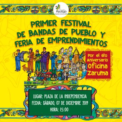 1er Festival de Bandas de Pueblo Zaruma